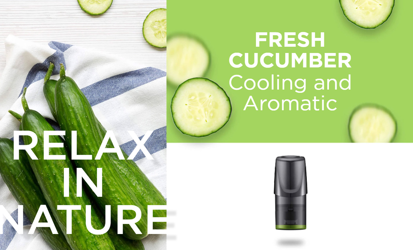 Image result for Pod Relx Fresh Cucumber