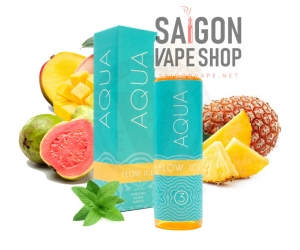 Aqua Flow Ice 60ml - Tinh Dầu Vape USA