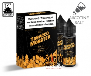 Bold Tobacco Monster Salt Nic