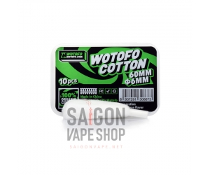 Wotofo Agleted Organic Cotton 6mm Cho Profile RDA