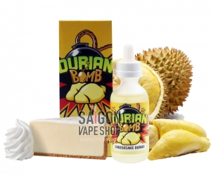 Durian Bomb Cheesecake Durian 60ml - Tinh Dầu Vape USA