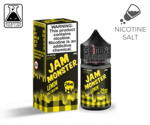 Jam Monster Lemon Salt Nicotine