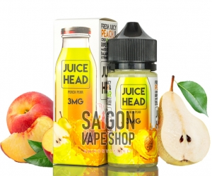Juice Head Peach Pear 100ml -  Tinh Dầu Vape USA