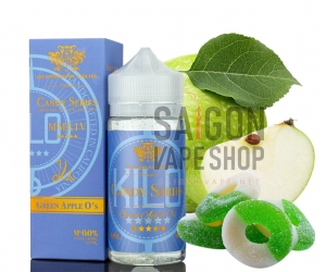 Kilo Candy Series Green Apple Os 100ml - Tinh Dầu Vape Mỹ