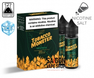 Menthol Tobacco Monster Salt Nic