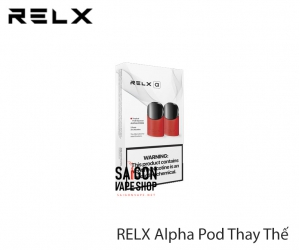 RELX Alpha Pods Thay Thế