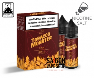 Rich Tobacco Monster Salt Nic