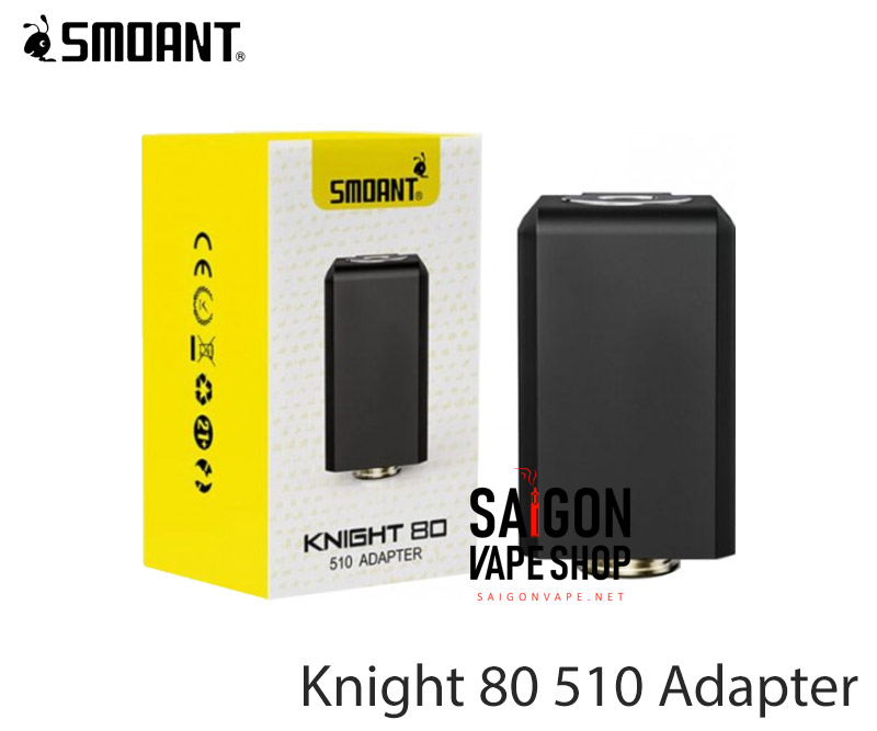 Smoant Knight 80 510 Adapter